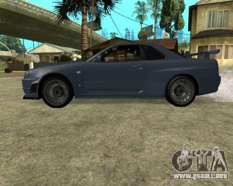 Nissan Skyline Armenia para la visión correcta GTA San Andreas