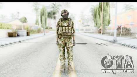 Global Warfare UK para GTA San Andreas segunda pantalla