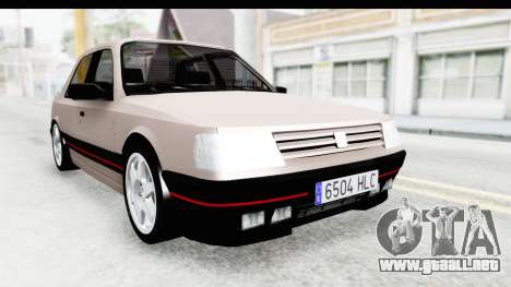 Peugeot 309 GTi para GTA San Andreas