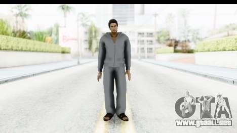 Yakuza 5 Kazuma Kiryu Home para GTA San Andreas segunda pantalla