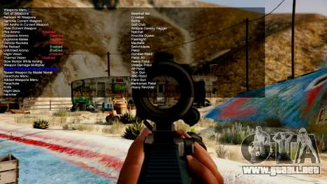 GTA 5 Simple Trainer v4.0 cuarto captura de pantalla