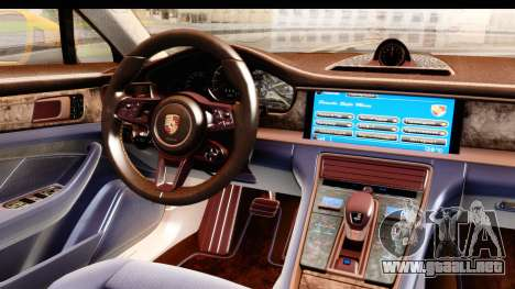 Porsche Panamera 4S 2017 v3 para la visión correcta GTA San Andreas