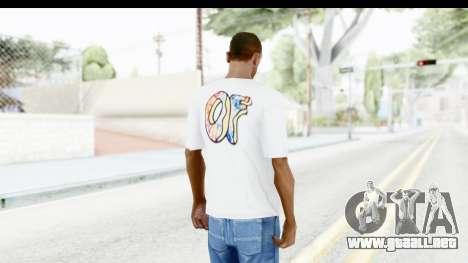 OF T-Shirt para GTA San Andreas tercera pantalla
