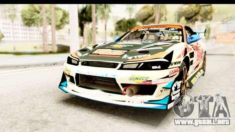D1GP Nissan Silvia RC926 Toyo Tires para la visión correcta GTA San Andreas