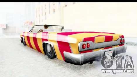 Blade New PJ para la visión correcta GTA San Andreas