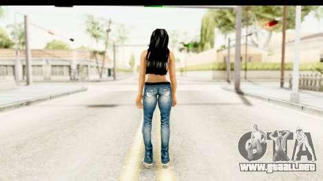 Gangsta Girl para GTA San Andreas tercera pantalla