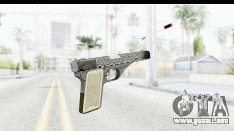 GTA 5 Vintage Pistol para GTA San Andreas segunda pantalla