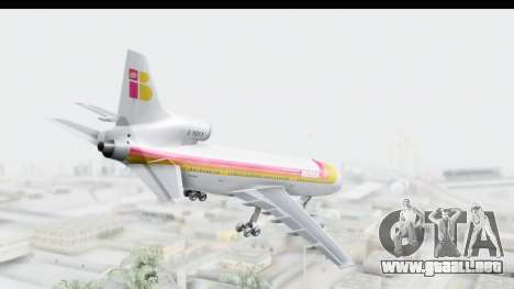 Lockheed L-1011-100 TriStar Iberia para GTA San Andreas left