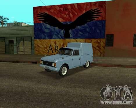Moskvich 2715 De Armenia para GTA San Andreas