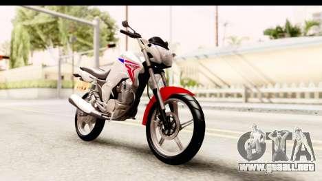 Honda CG150 para la visión correcta GTA San Andreas