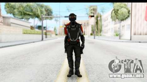 Homefront The Revolution - KPA v3 Captain para GTA San Andreas segunda pantalla