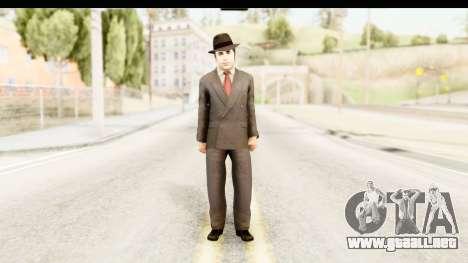 Al Capone para GTA San Andreas segunda pantalla