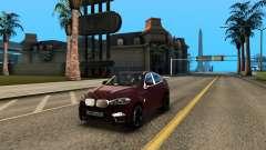 BMW X6M Bulkin Edition para GTA San Andreas