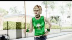 Silent Hill 3 - Heather Sporty Green Get A Life para GTA San Andreas