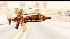 SCAR-LK Hex Camo Green para GTA San Andreas