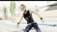 Silent Hill 3 - Heather Sporty Black Pennywise R para GTA San Andreas