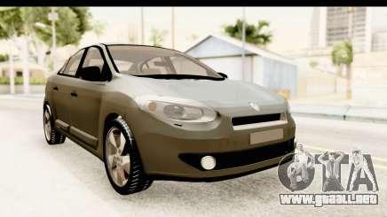 Renault Fluence v2 para GTA San Andreas