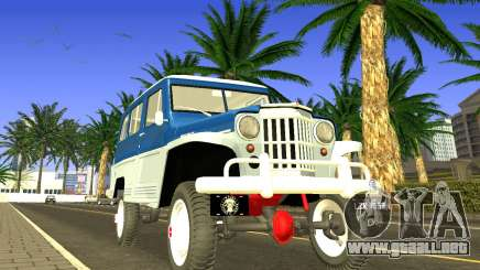 Jeep Station Wagon 1959 para GTA San Andreas