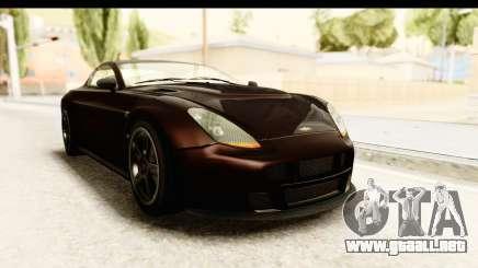 GTA 5 Dewbauchee Rapid GT SA Style para GTA San Andreas