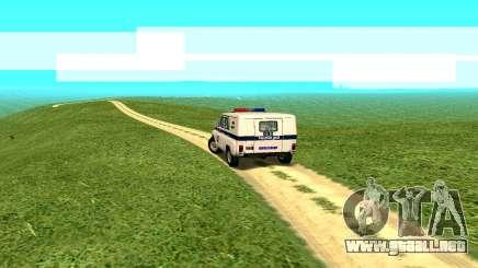 Los efectos estándar, sin el polvo para GTA San Andreas