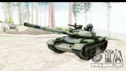 T-62 Wood Camo v2 para GTA San Andreas