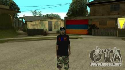 New Armenian Skin para GTA San Andreas