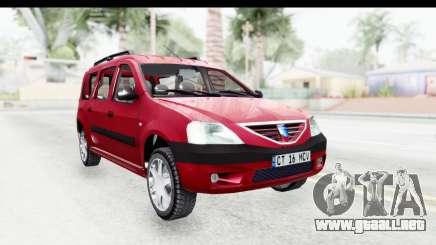 Dacia Logan MCV para GTA San Andreas