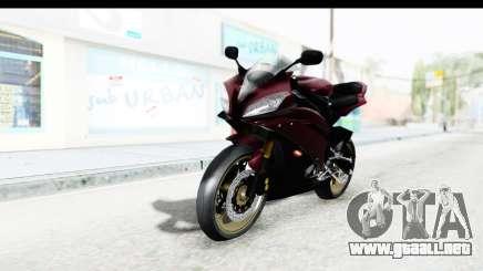 Yamaha YZF-R6 2008 para GTA San Andreas