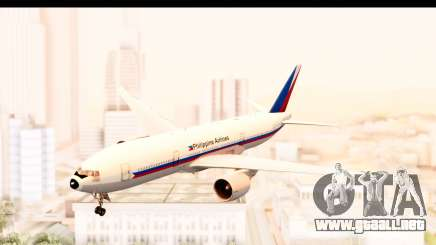 Boeing 777-200LR Philippine Airline Retro Livery para GTA San Andreas