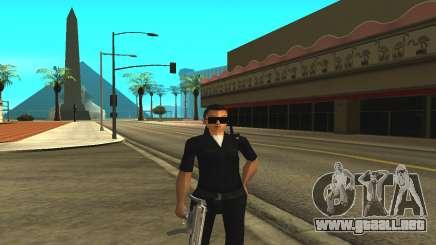 La piel de una mujer policía para GTA San Andreas