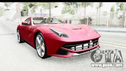 Ferrari F12 Berlinetta 2014 para GTA San Andreas