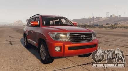 Toyota Land Cruiser 2013 para GTA 5