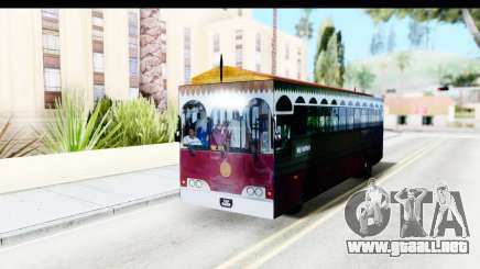 Cas Ligas Terengganu City Bus Updated para GTA San Andreas