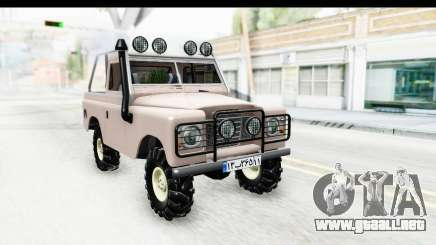Land Rover Pickup Series3 para GTA San Andreas