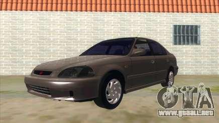 Honda Civic Sedan Stock para GTA San Andreas