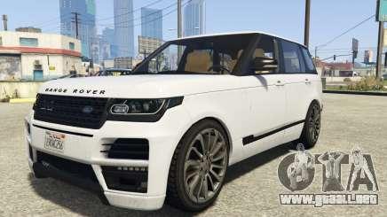Land Rover Range Rover Startech para GTA 5