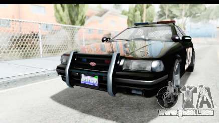 Vapid ULTOR Police Cruiser para GTA San Andreas