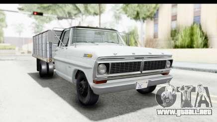 Ford F-350 Farm Truck 1970 para GTA San Andreas