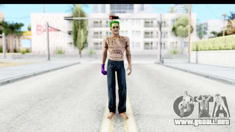 Suicide Squad - Joker v1 para GTA San Andreas segunda pantalla