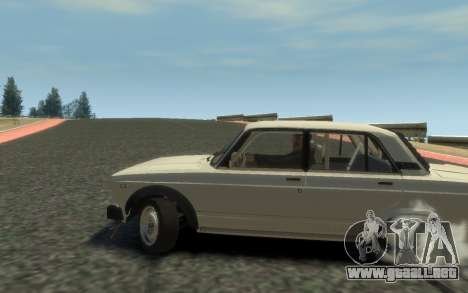 VAZ 2105 Drift (Paul Black prod.) para GTA 4 Vista posterior izquierda