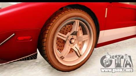 GTA 4 TboGT Bullet para GTA San Andreas vista hacia atrás