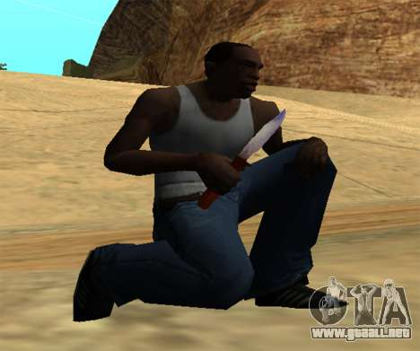 Common Knife para GTA San Andreas