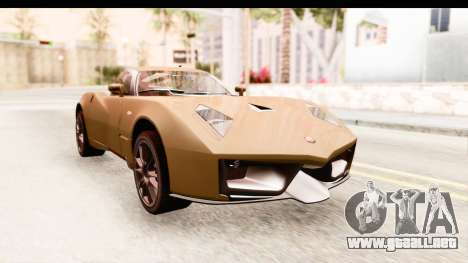 Spada Codatronca TS para la visión correcta GTA San Andreas