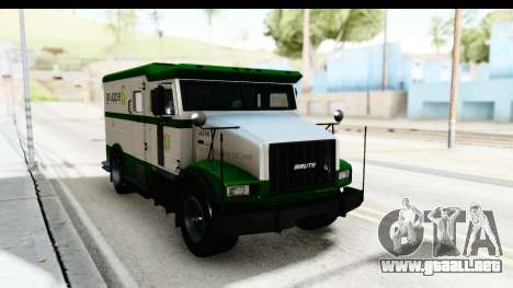 GTA 5 Stockade v2 para la visión correcta GTA San Andreas