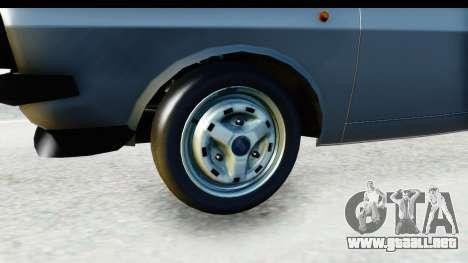 Dacia 1300 Sport Cabrio para GTA San Andreas vista hacia atrás