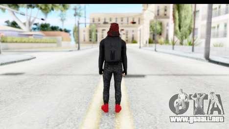 Skin Random 4 from GTA 5 Online para GTA San Andreas tercera pantalla