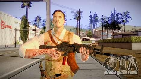 Black Ops 3 - Edward Richtofen para GTA San Andreas tercera pantalla