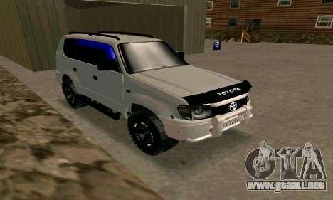 Toyota Land Cruiser 95 para la visión correcta GTA San Andreas