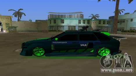 VAZ 2114 DPS de Optimización para GTA Vice City left