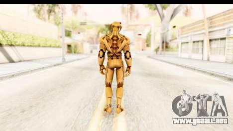 Marvel Heroes - Ultron Gold AoU para GTA San Andreas tercera pantalla